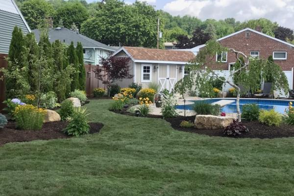 Pool Area Landscaping