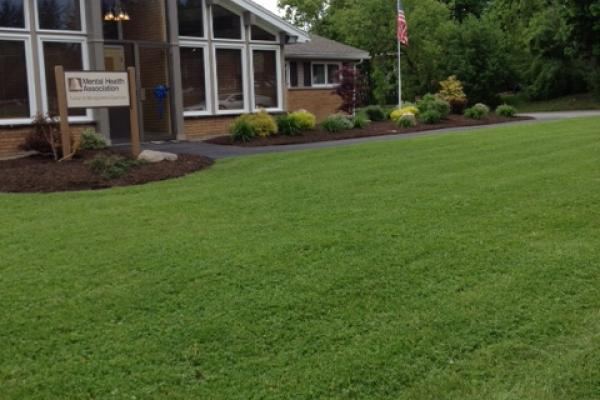 Commercial Landscaping - Mental Health Association