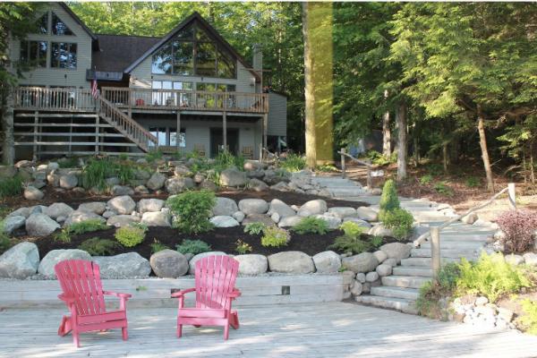 Natural Stone Steps, Boulders & Landscaping - Adirondacks